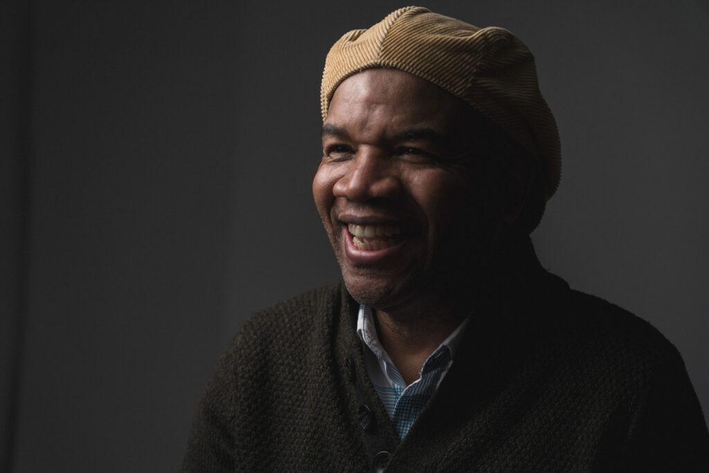 Male wearing a hat -  Studio Headshot