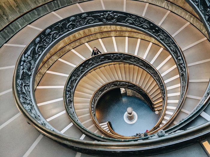 Golden Ratio found in man made architecture designs.