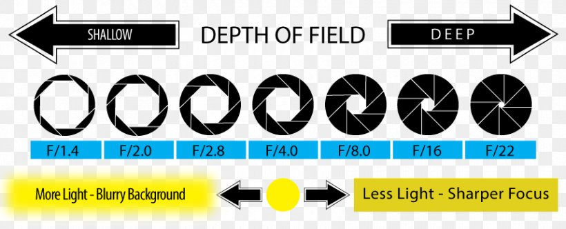 UNDERSTANDING APERTURE AND ITS USE IN PHOTOGRAPHY.  Cheat Sheet